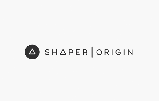 Shaper Origin Logo Black