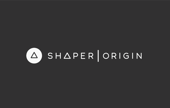 Shaper Origin Logo White